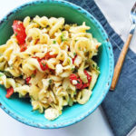 roasted fennel, cherry tomato, and feta pasta salad