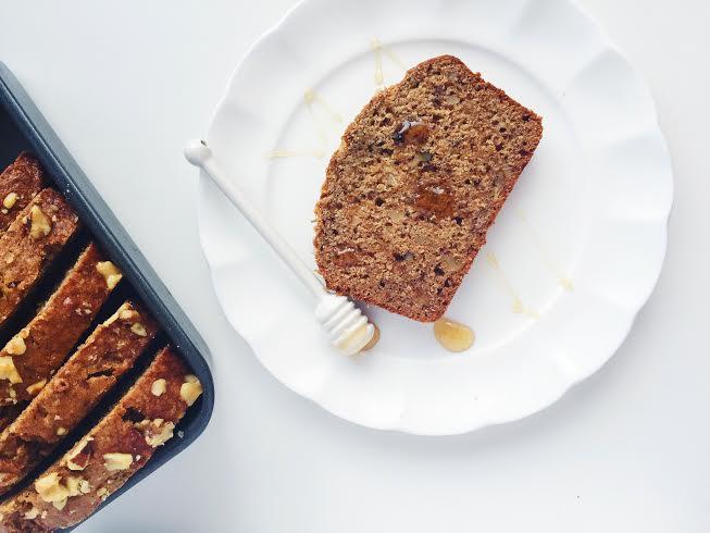 flax banana bread