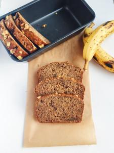 Honey, Walnut + Flax Banana Bread