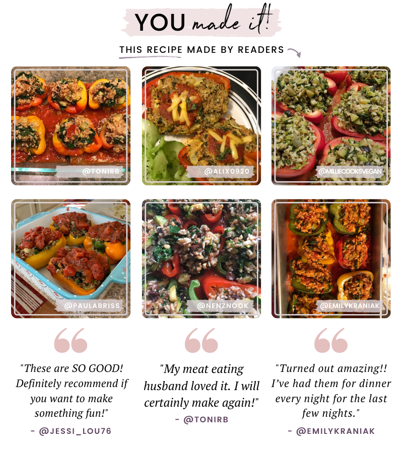 vegan stuffed pepper reviews