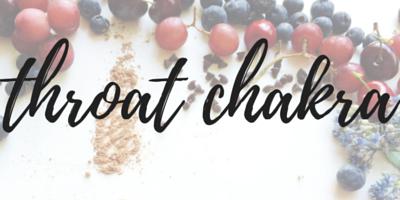 food and chakra