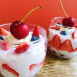 dairy-free strawberry vanilla mousse