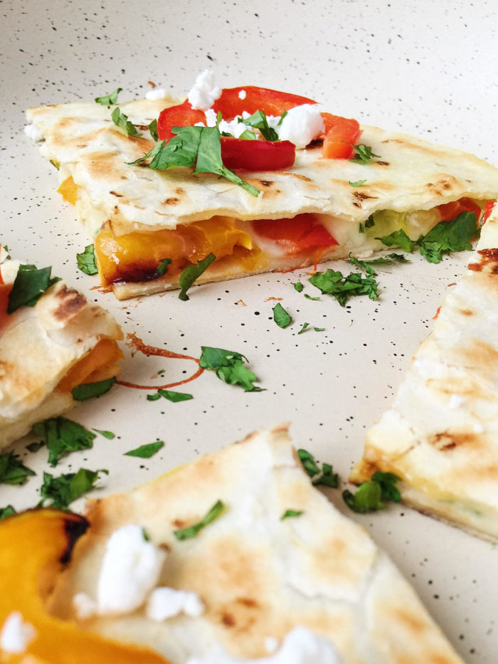 goat cheese quesadilla