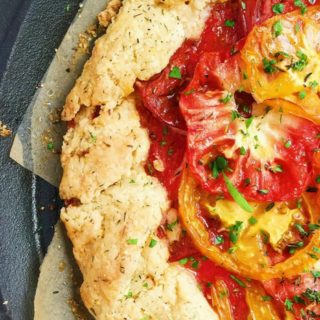 Rustic Manchego + Heirloom Tomato Crostata (Plus: How to Pack the Perfect Picnic)