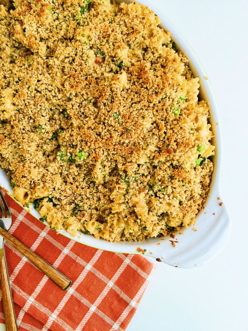 cauliflower sauce mac and cheese