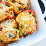 southwestern turkey stuffed peppers