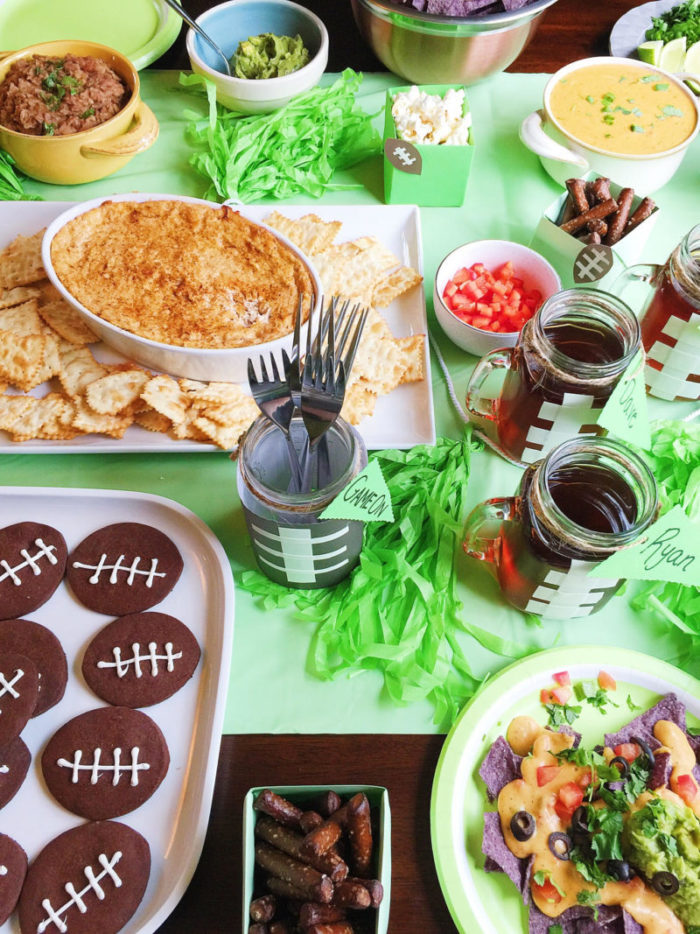 game day football party