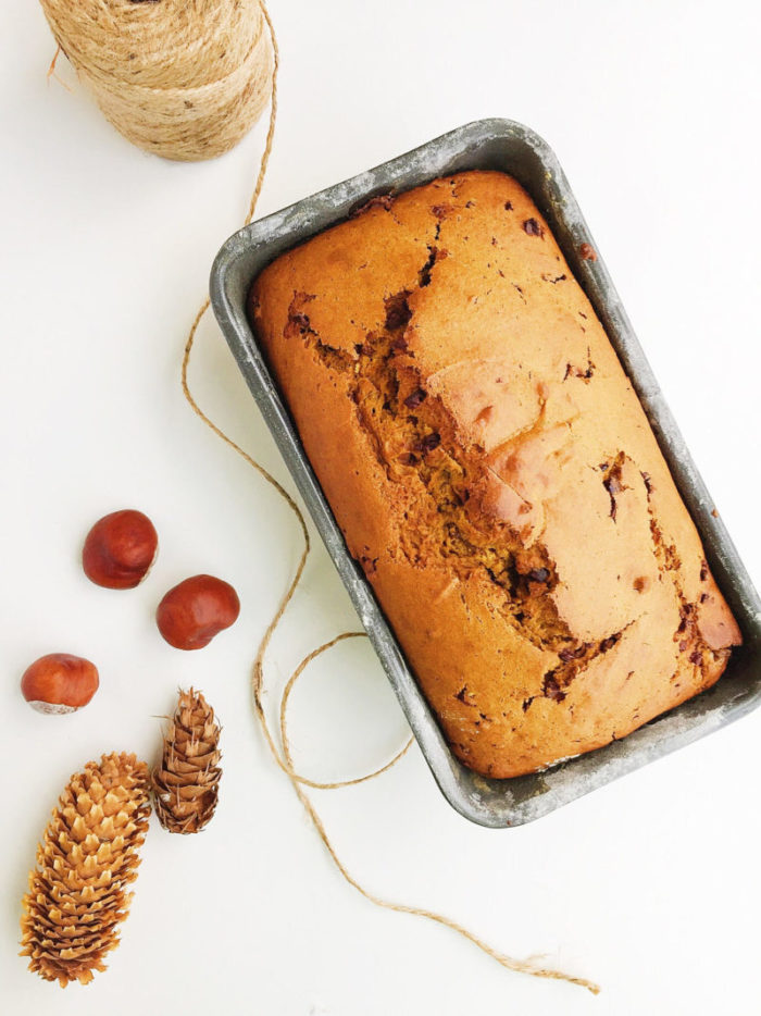 cocao nib pumpkin bread