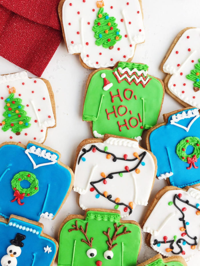 Vanilla Spice Ugly Christmas Sweater Cookies Parsnips And Pastries