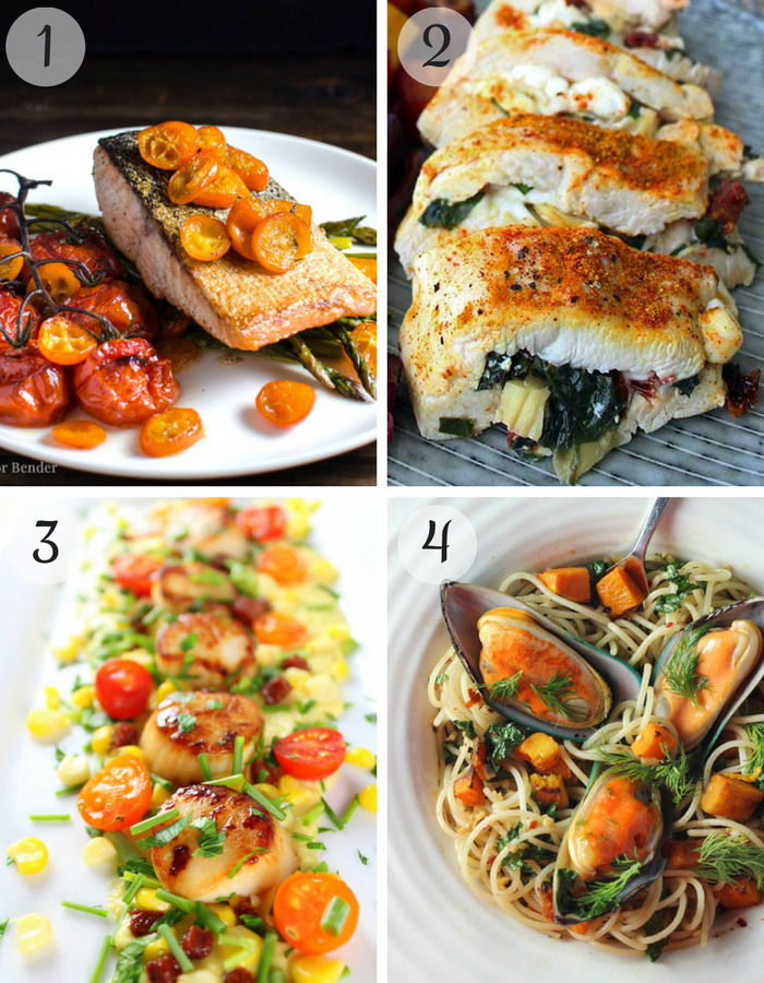 healthy valentine's day recipes