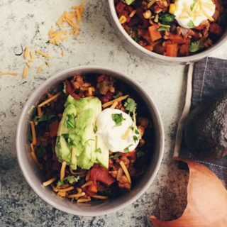 Hearty Healthy Turkey and Bean Chili