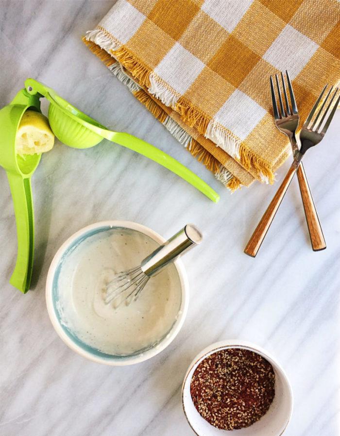 Farro Breakfast Bowls with Za'atar and Tahini