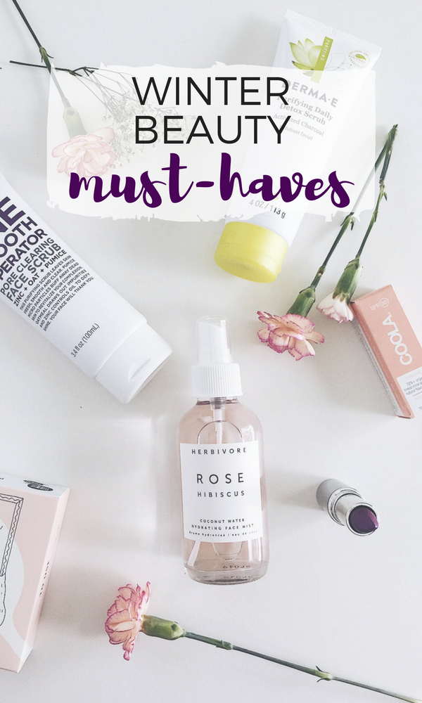 beauty must-haves for winter
