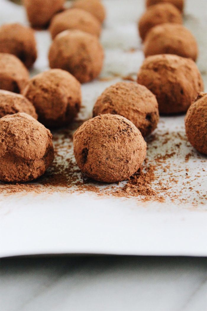 chinese five spice chocolate truffles