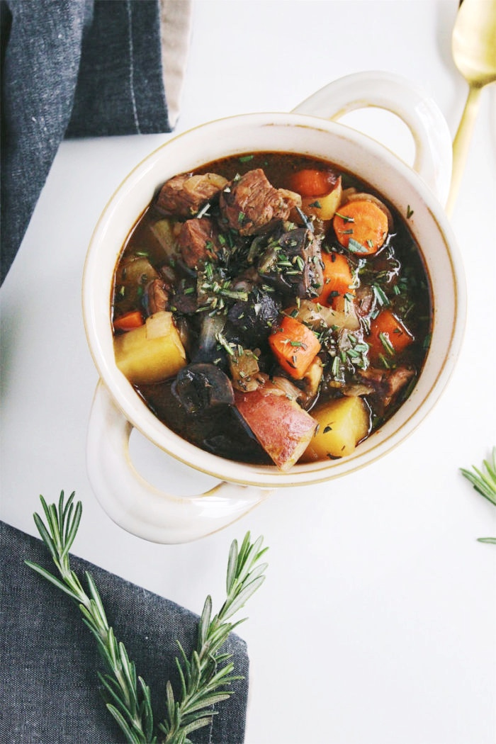 Paleo Beef Stew is Whole30 compliant