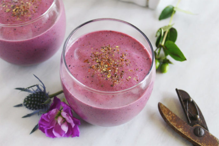 Flax and Berry Smoothie