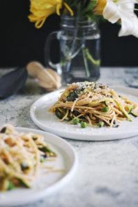 very green spring pasta