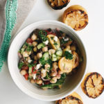 grilled lemon chickpea salad