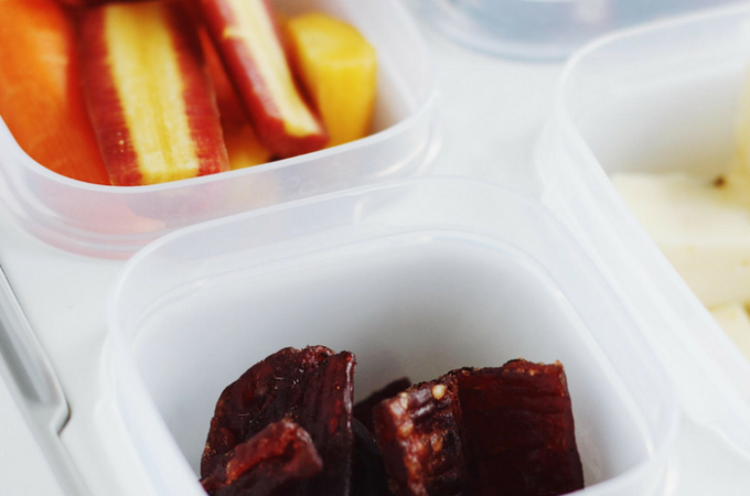 DIY Protein Snack Box