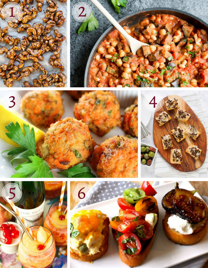 how to host an easy tapas party