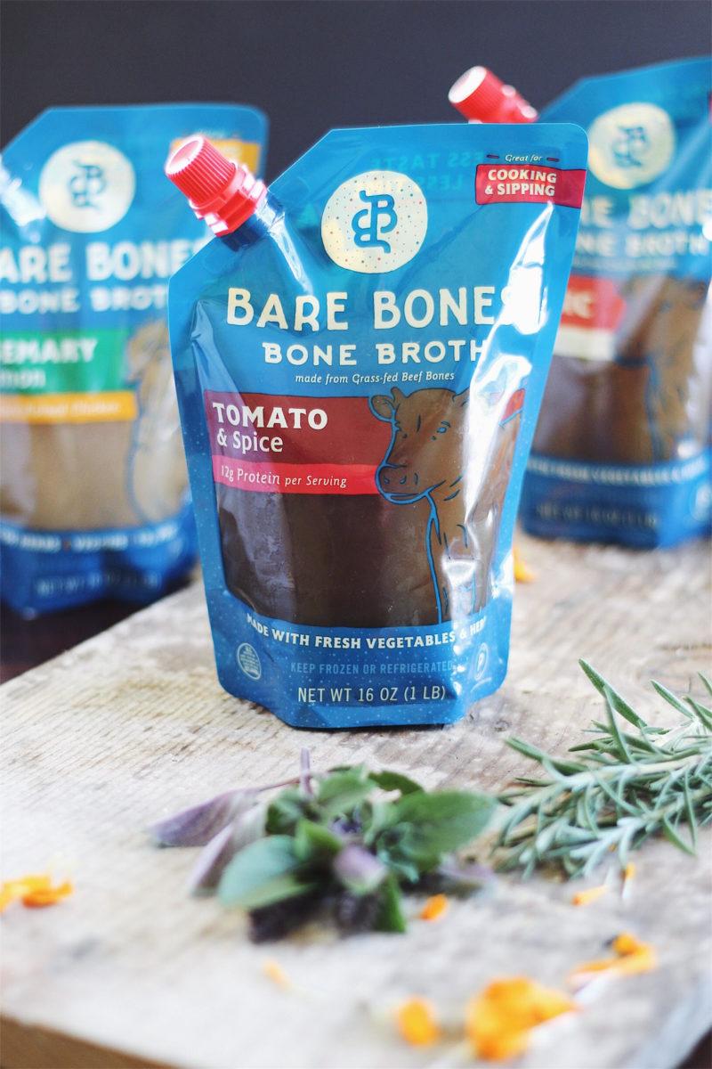 bone broth gazpacho