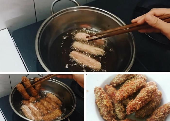 Vietnamese Deep Fried Pork Rolls (Nem Chua Rán) - Parsnips