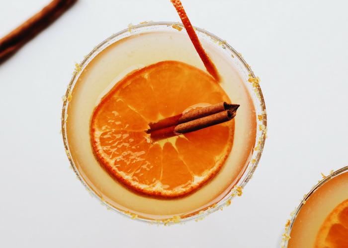 Honey Orange Margaritas