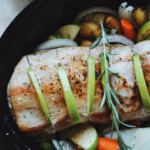 Slow-Cooker Pork with Apples