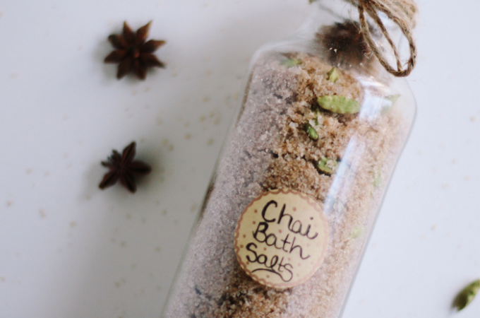 Spiced Chai Bath Salts