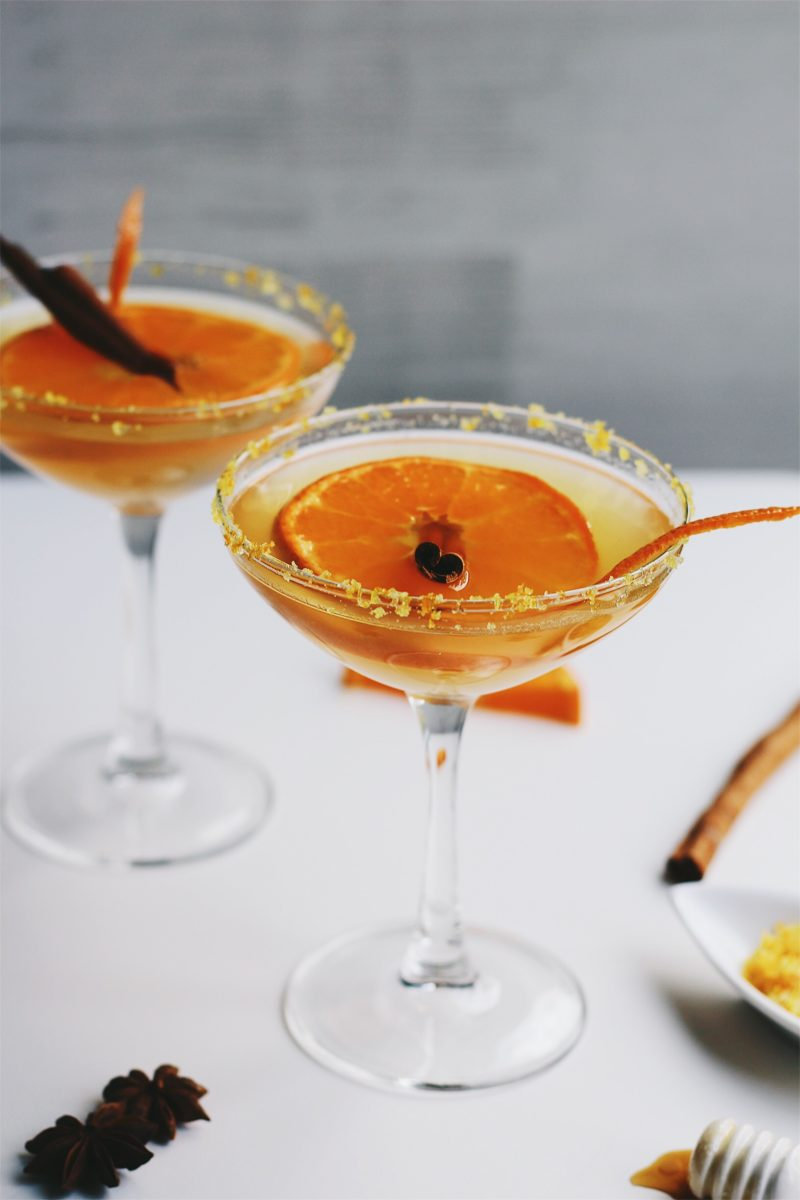 Honey Orange Margaritas