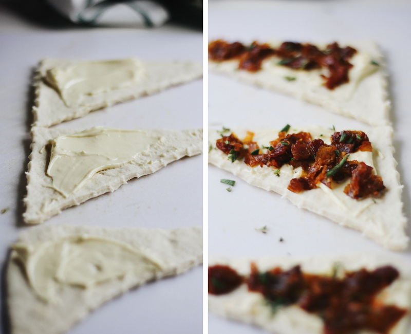 Bacon Jam Crescent Rolls