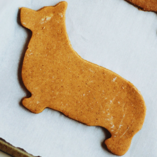 Gluten-Free Gingerbread Corgi Cookies