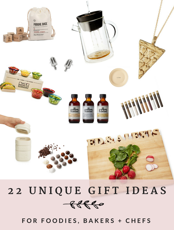 22 Unique Gifts for the Foodie