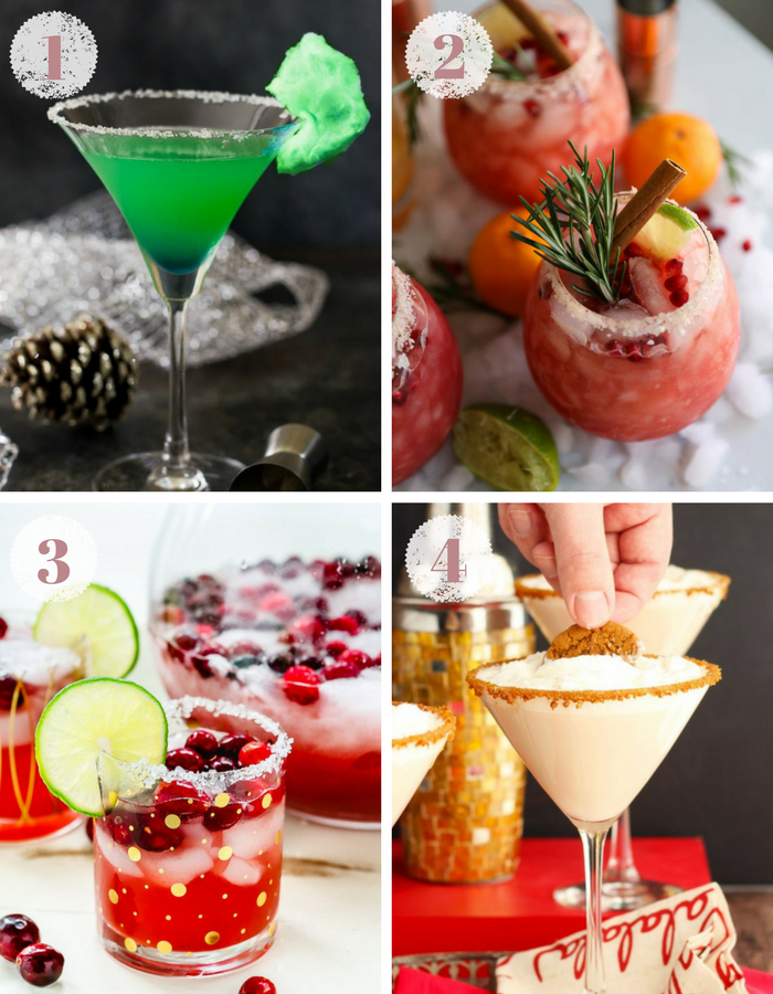 Festive Holiday Cocktail Recipes