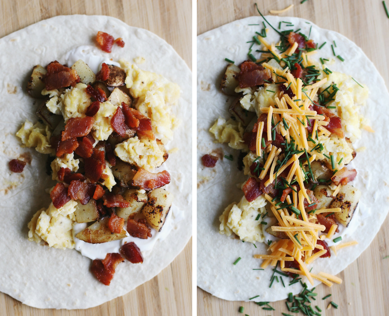 Low Carb Loaded Potato Breakfast Burritos Parsnips And Pastries