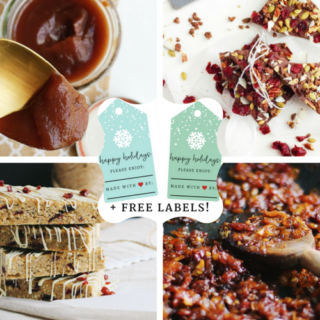 6 Edible Holiday Gifts (+ FREE Printable Labels!)