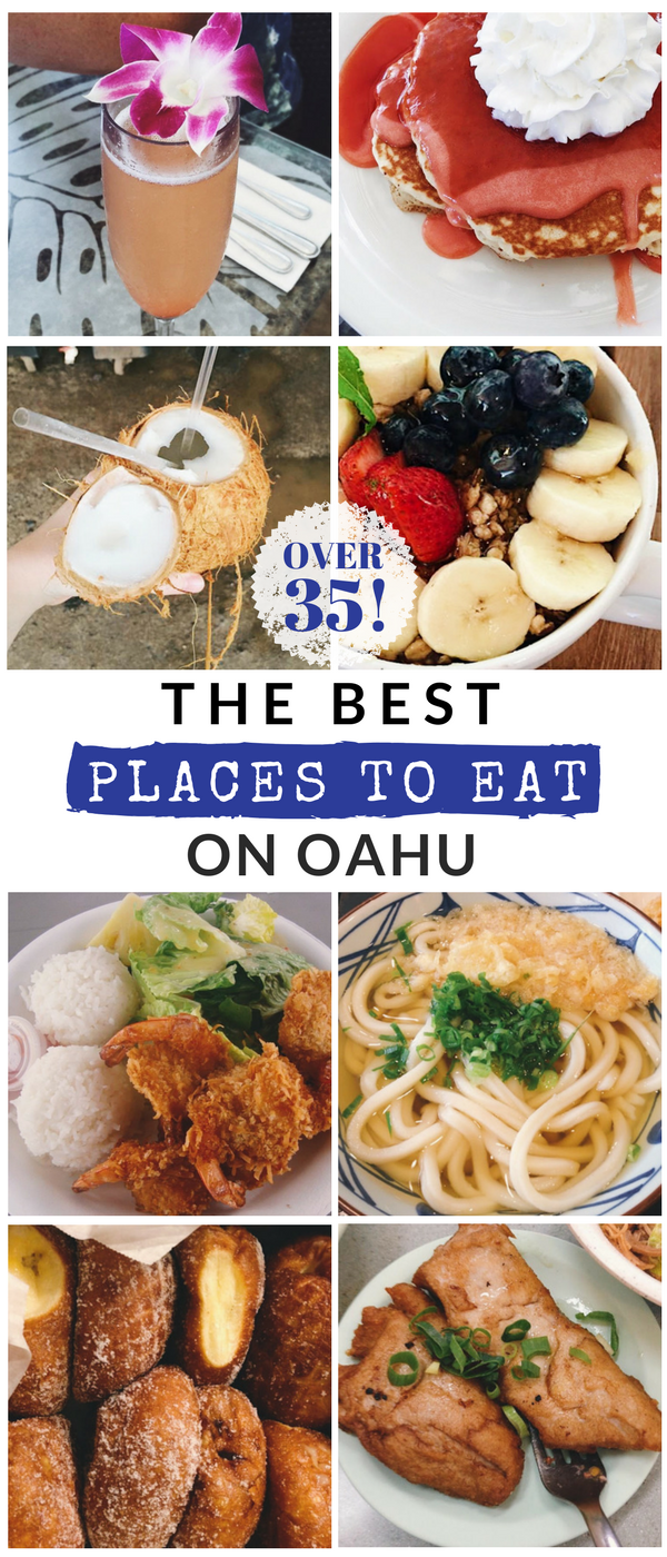 The Best Places to Eat on Oahu