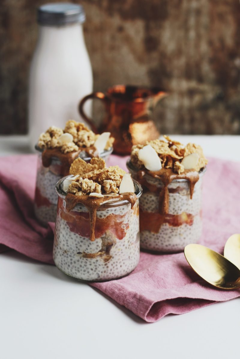 Coconut Chia Pudding Parfaits