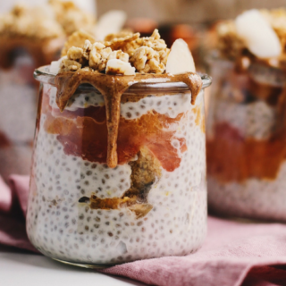 Roasted Citrus and Coconut Chia Pudding Parfaits