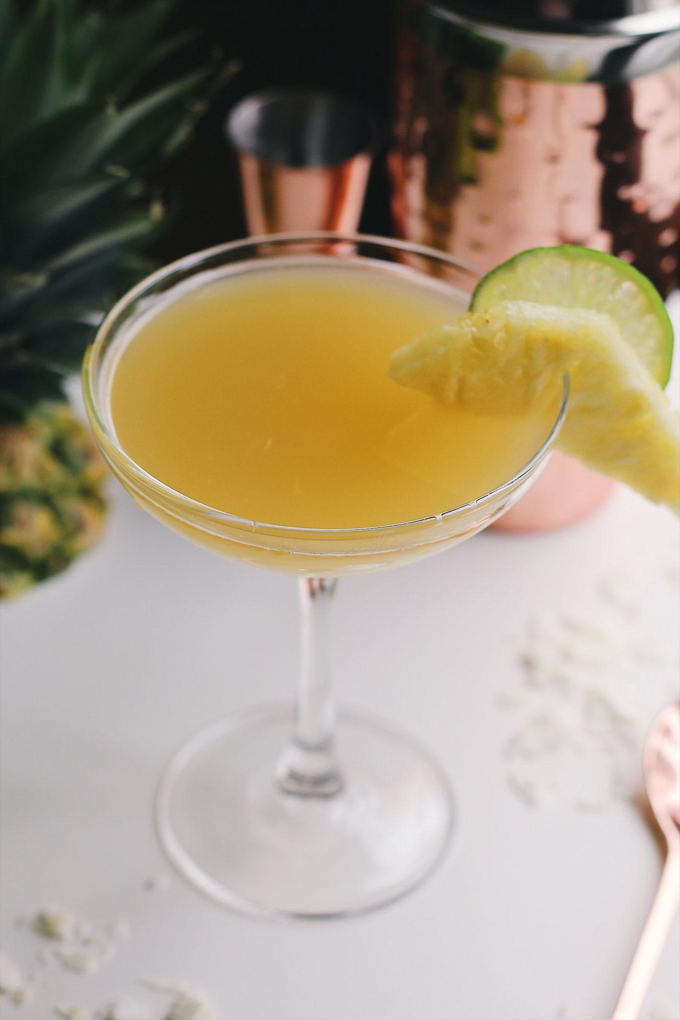 Pineapple Coconut Mai Tais
