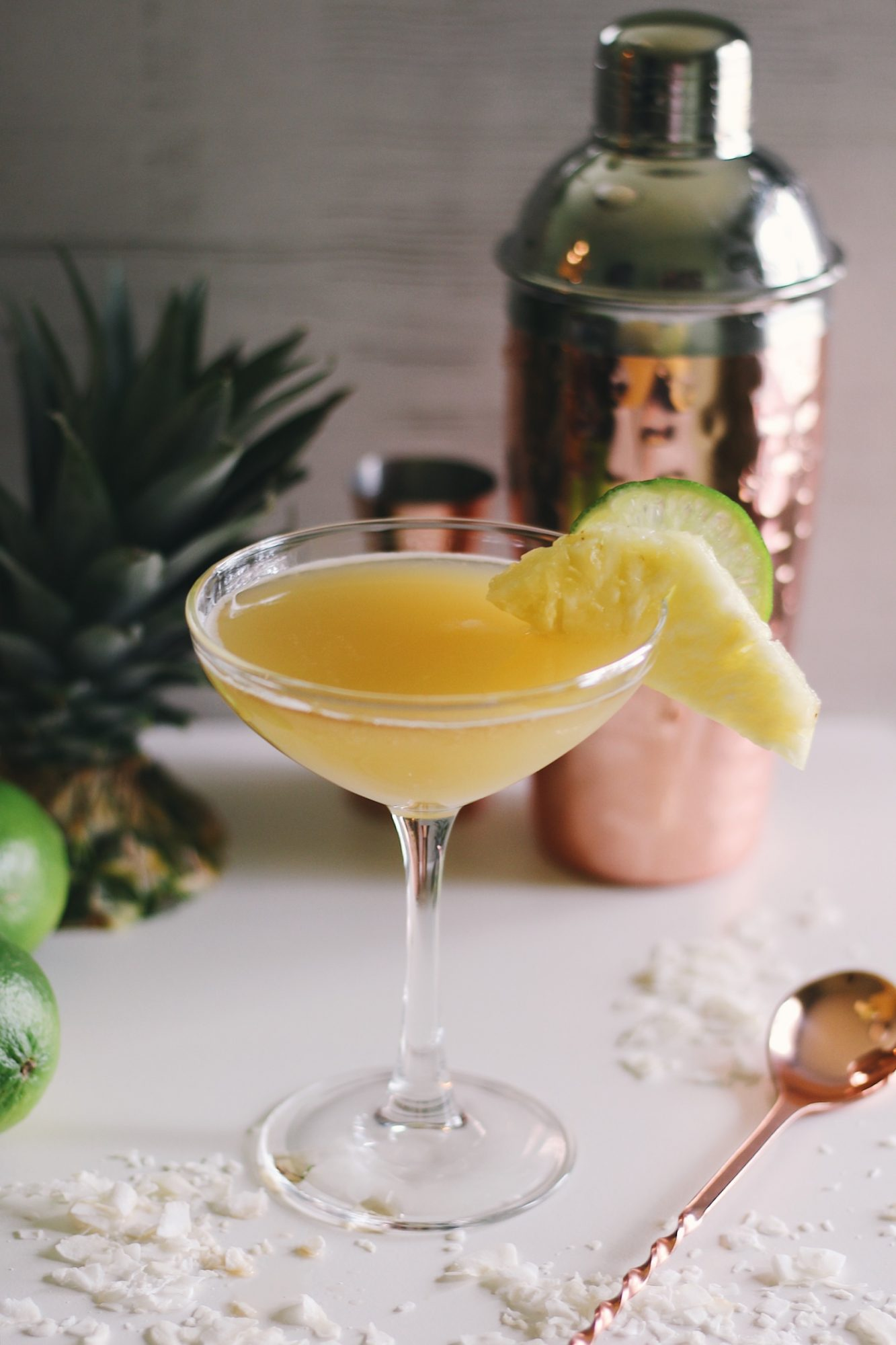 Pineapple Coconut Mai Tais