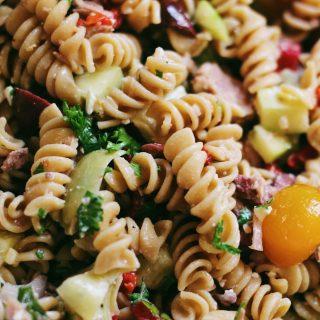 Mediterranean Tuna Pasta Salad