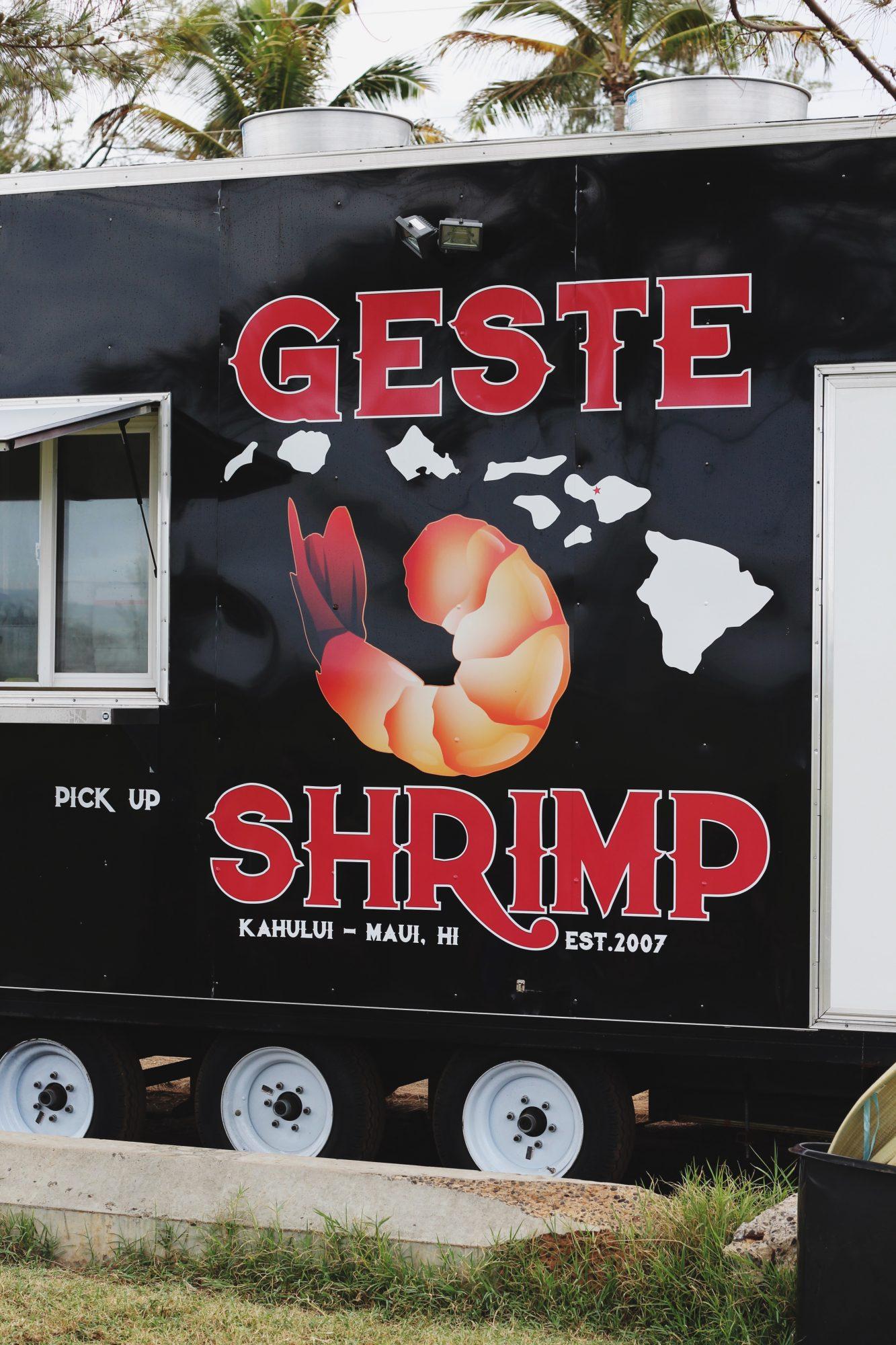 Best Restaurants in Maui: Geste Shrimp Truck