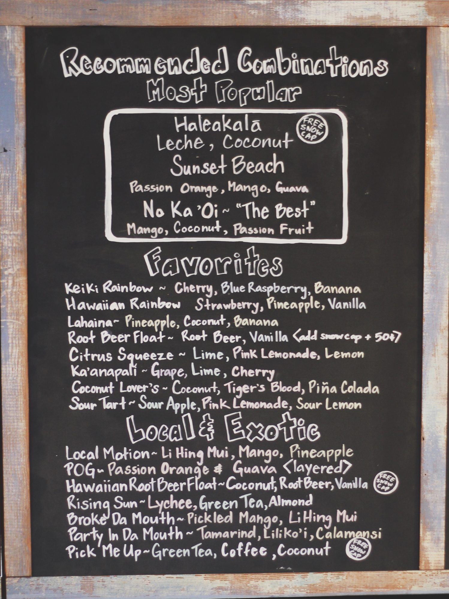 Best Restaurants in Maui: Ululani's Shave Ice