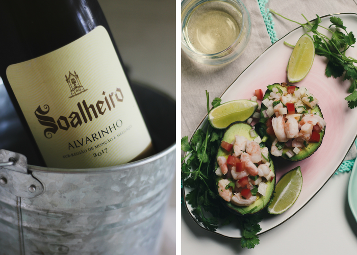 Shrimp Ceviche Stuffed Avocados