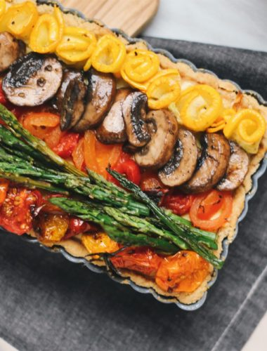 Ricotta Vegetable Tart