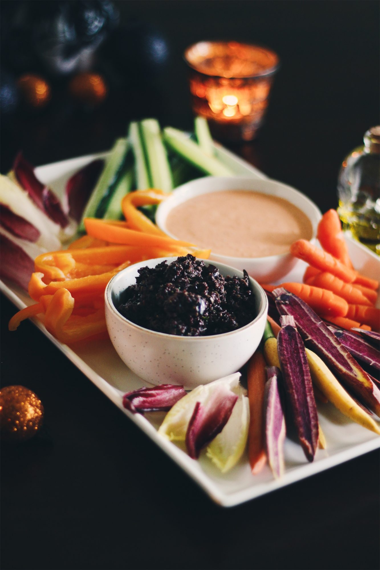 Halloween Appetizer: Creepy Crudite