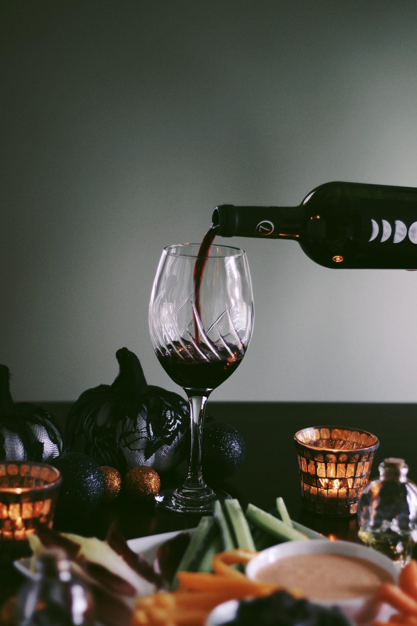 Halloween Appetizer: Creepy Crudite