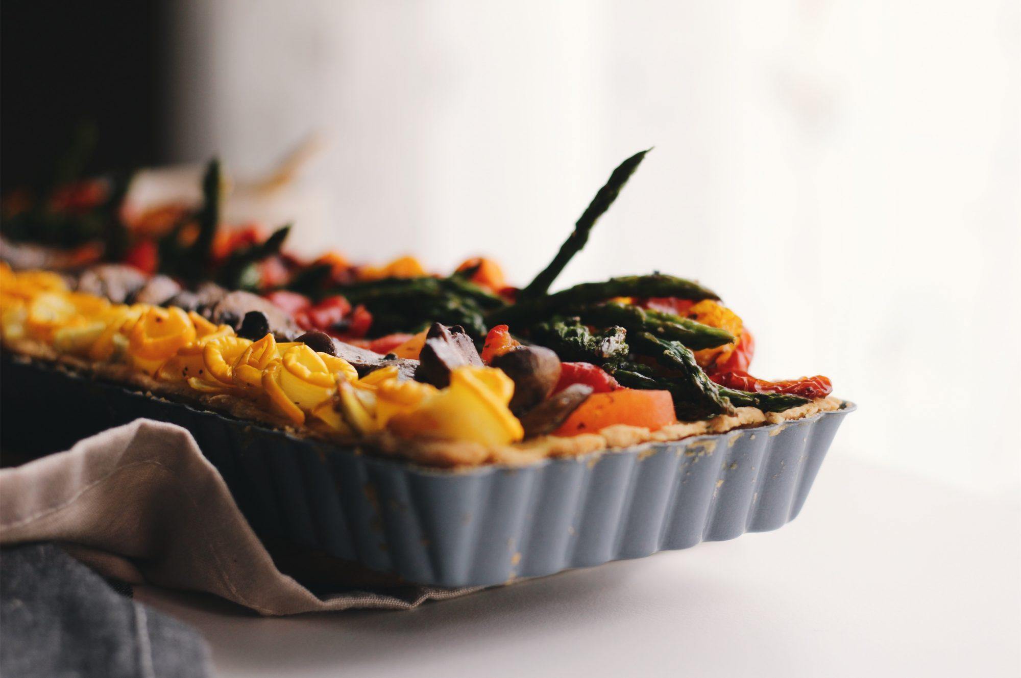 Ricotta Vegetable Tart