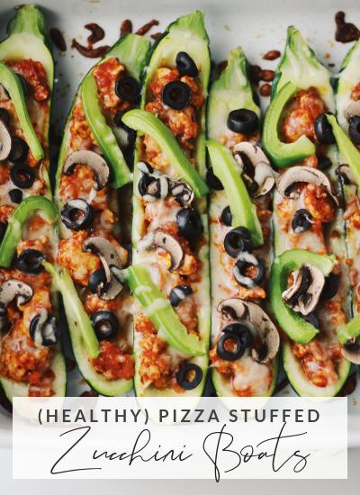Pizza Stuffed Zucchini